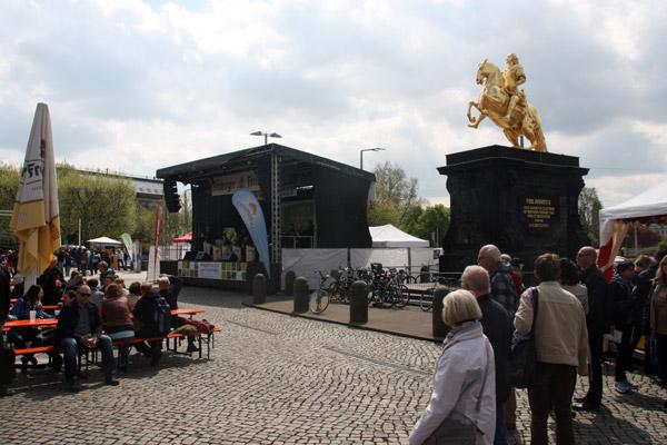 Drugmillers Bigband zum Familienfest Neustädter Markt, Dresden