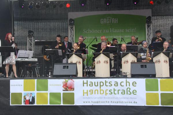 Drugmillers Bigband Hauptbühne Familienfest Neustädter Markt, Dresden